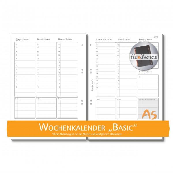 flexiNotes® WOCHENKALENDER A5 - 2021