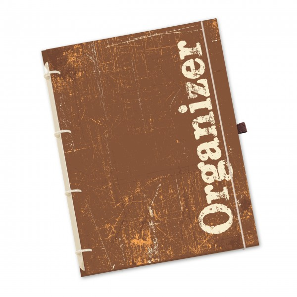 "flexiNotes® ORGANIZER A4 ""Vintage"" 2021"