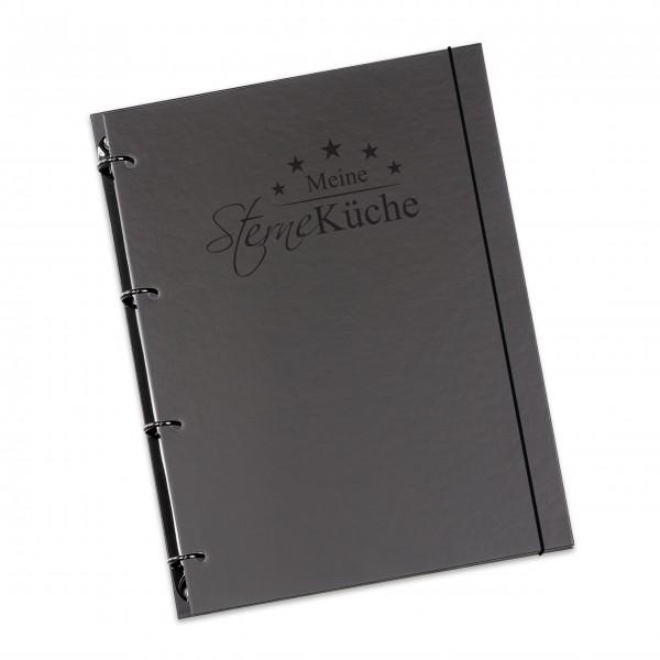 """flexiNotes® KOCHBUCH A4 """"Sterneküche"""""""