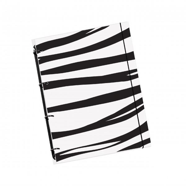 "flexiNotes® NOTIZBUCH A5 ""Zebra"""